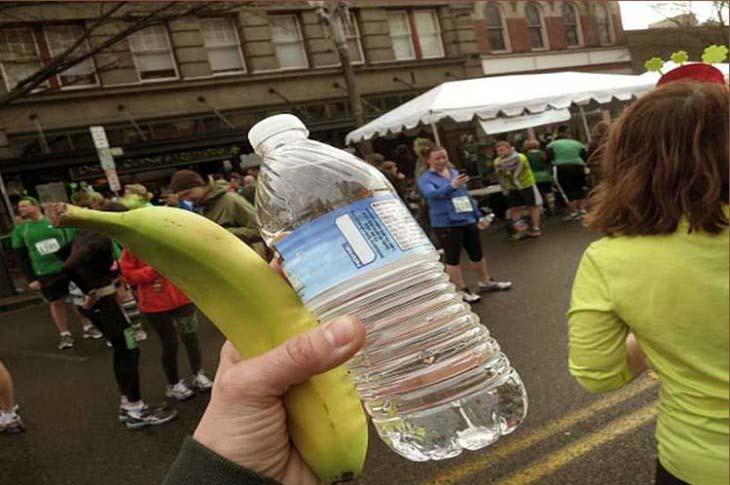 Banane i voda za dijetu