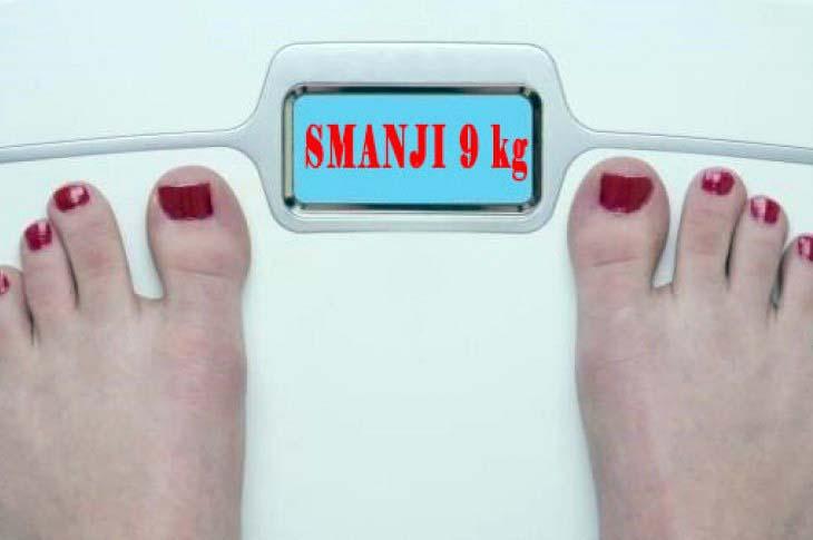 Da smršate do 9 kg